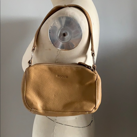 Roots mini purse.